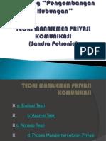 manajemen privasi komunikasi