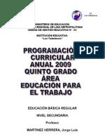 PROGRAMA modelo