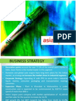 asian paints security analysis
