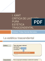 Introduccion a La CrRP - Estetica Trascendental