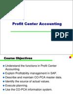 SAP Profit Center Accounting PPT