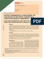 Estudo Comparativo Conico x Cilindrico