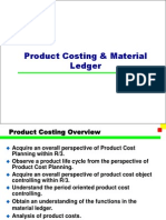 SAP Product Costing & Material Ledger PPT