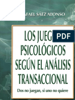Juegos Psicologicos segun el analisis transaccional