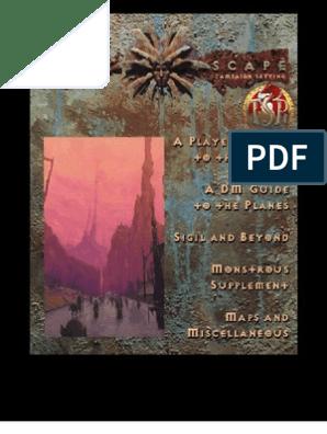 AD&D [Planescape] Campaign Setting [found via www fileDonkey pdf