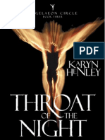 Throat of the Night (Angelaeon Circle, #3) by Karyn Henley, Chapter 1