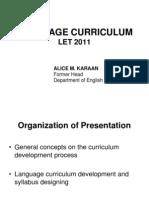 Language Curriculum