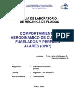 Comportamiento Aerodinamico de cuerpos fuselados y perfiles alares
