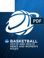 NCAA Basketball Rules and Regulations
