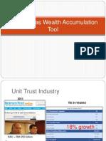 Unit Trust as Wealth Accumulation Tool