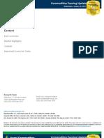 International Commodities Report, 16th January