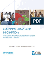 Sustaining Urban Land Information