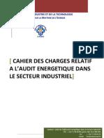 Cahier des charges d'audit energétique