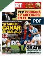 Diario Deportivo Sport 17-1-2013