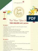 Tet Vietnamese New Year at Lifestyle Resort Da Nang, Vietnam