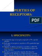 LECT.4, PROPERTIES OF RECEPTORS by dr saidia zafar
