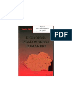 Dictionarul Moldovenesc Romanesc