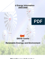 Wind energy Information