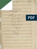 Klöffler Concerto flauto 2 violino 2 corno viola e Basso