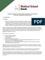 UMD Essential Capacities