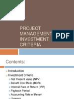 investment criteria.ppt