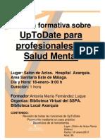 UpToDate para profesionales de Salud Mental