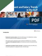Employment & Salary Trends GCC 2012
