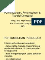 03-Perkembangan, Pertumbuhan, & Transisi Demografi