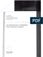 An introduction to finite element analysis - Reddy