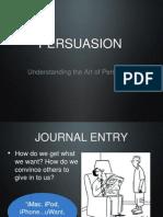 Persuasion and Argument