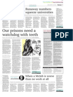 Our prisons need a watchdog with teeth by Ruth Hopkins