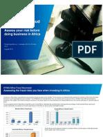 Africa Fraud Barometer June 2012