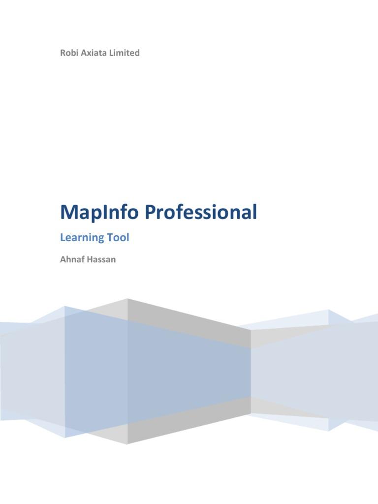 Mapinfo beginners manual biocorpaavc Images