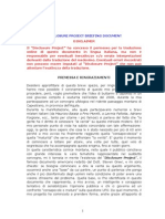 Disclosure Project Briefing Document (Italiano)