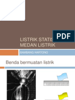 Listrik Statis - Power Point