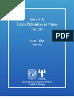 Inventario de Escalas Psicosociales en México
