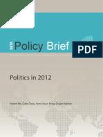 Politics in 2012