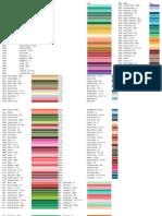 dmc floss colors