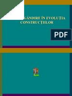 evolutia constructiilor