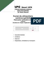 Manual UPS 1KVA-APC_ro