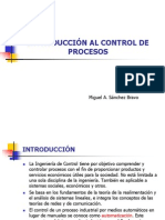 0. INTRODUCCIÓN AL CONTROL DE PROCESOS