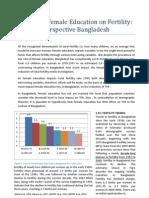 Impact of female education on fertility perspective Bangladesh.docx