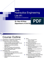 Hydraulics Engineering