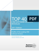 TOP 40 CRM SOFTWARE VENDORS