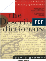 the Describers Dictionary