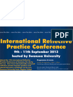 International Reflective Practice Conference Save The Date