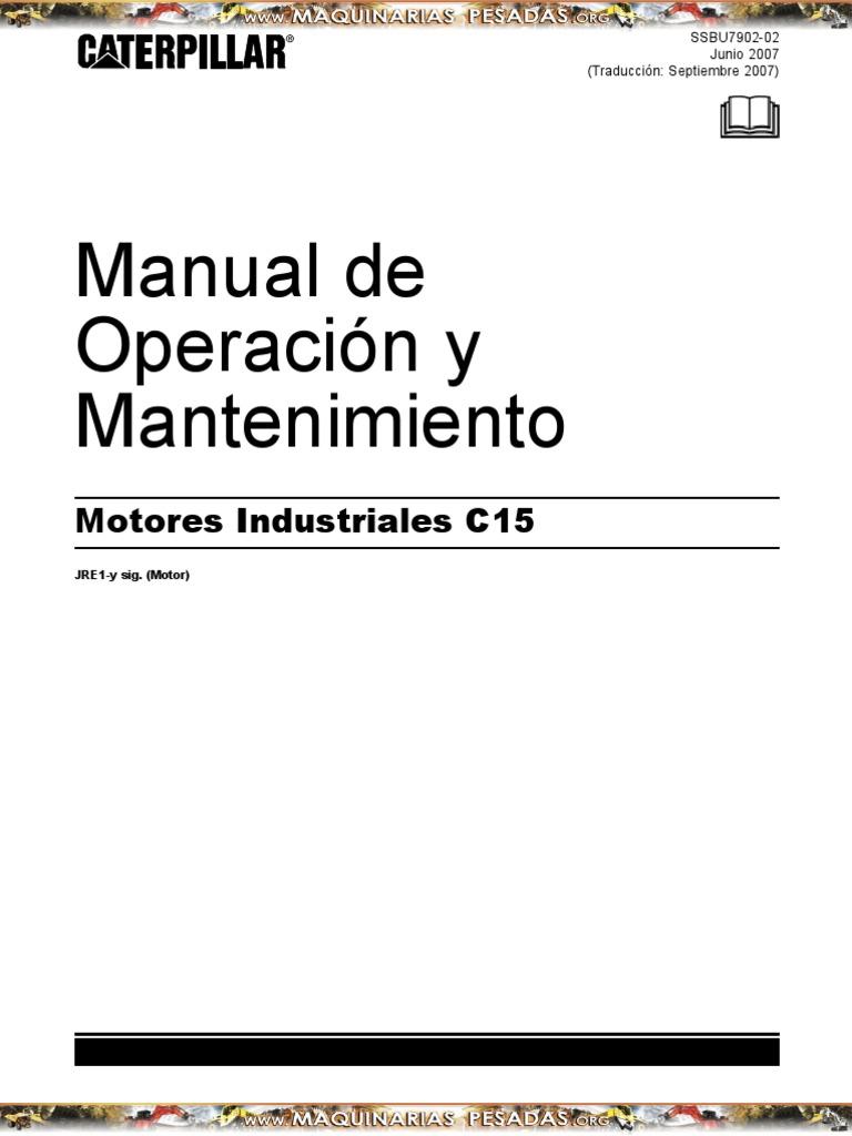 manual de mantenimiento equipos caterpillar c15 rh es scribd com  caterpillar c15 manual español pdf