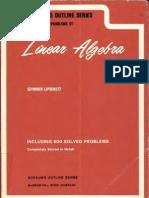 Schaum's series-Linear algebra