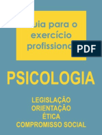 Manual de atuação do psicólogo