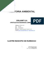 Auditoría Ambiental Crilamit